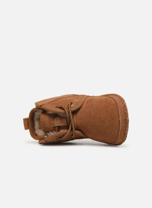 Slippers UGG Baby Neumel & Ugg Beanie Brown view from the left
