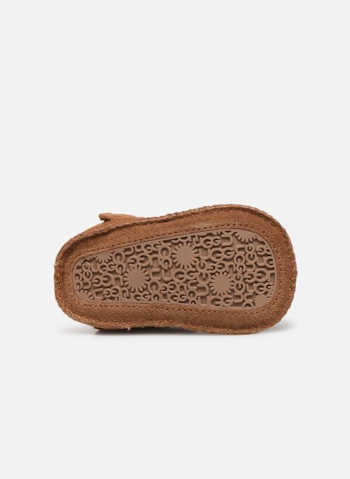 Slippers UGG Baby Neumel & Ugg Beanie Brown view from above