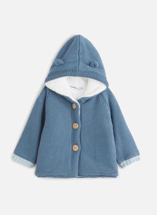 Vêtements Noukies Cocon Mantelet Tricoloudoux Bleu vue détail/paire