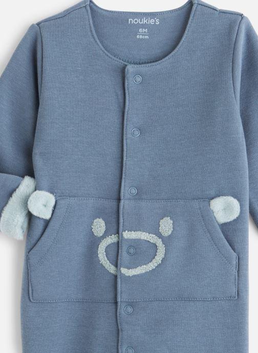 Vêtements Noukies Cocon Combi Sweatoldx Bleu vue portées chaussures