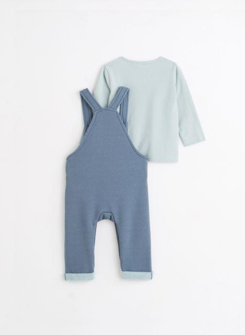 Vêtements Noukies Cocon Set Salopette Sweatldx Bleu vue bas / vue portée sac