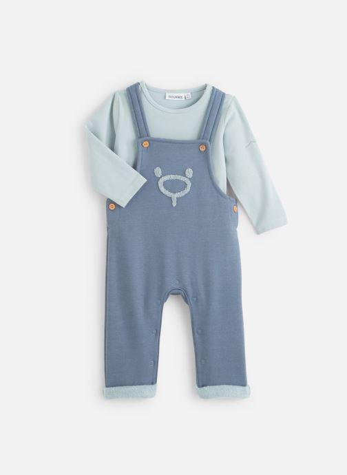 Vêtements Noukies Cocon Set Salopette Sweatldx Bleu vue détail/paire