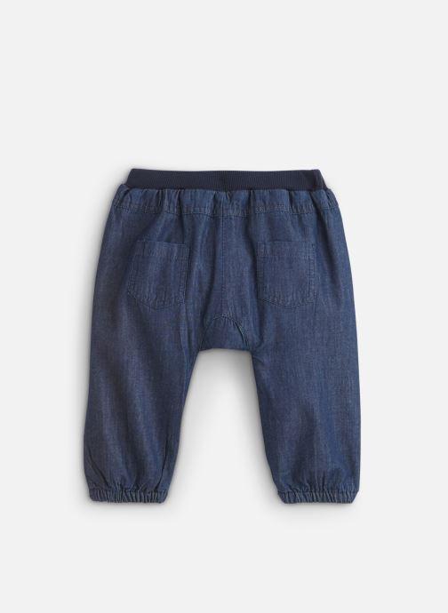 Vêtements Noukies Cocon Pantalon Bleu vue bas / vue portée sac