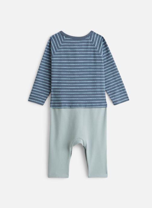 Vêtements Noukies Cocon Combi Bleu vue bas / vue portée sac