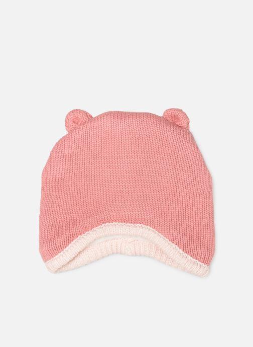 Bonnets Noukies Cocon Chapka Rose vue détail/paire