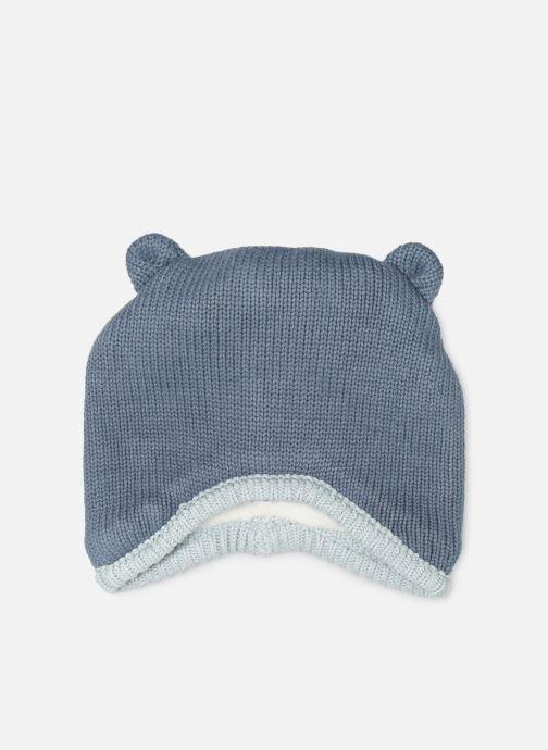 Bonnets Noukies Cocon Chapka Bleu vue détail/paire