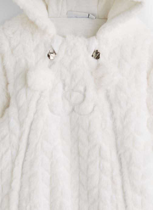 Vêtements Noukies Groloudoux Pilote Blanc vue portées chaussures