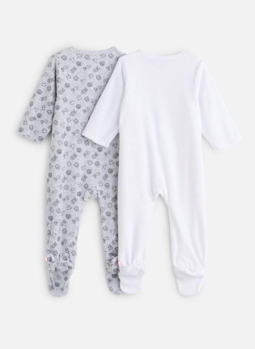 Vêtements Noukies Plume Set De 2 Db Velours Gris vue bas / vue portée sac