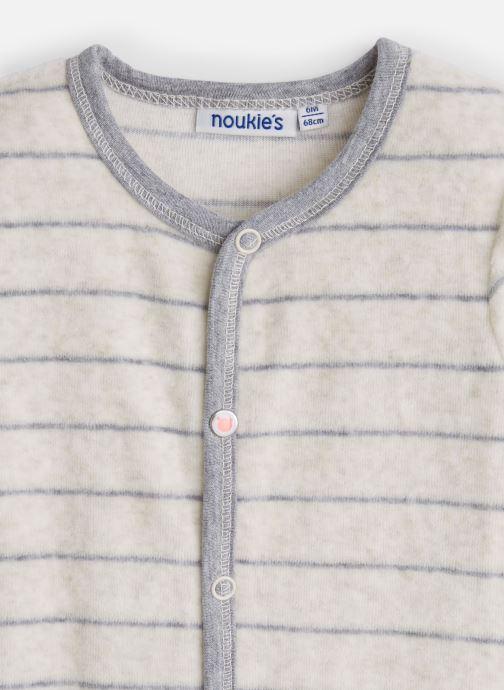 Vêtements Noukies Graphique Boy Dors Bien Blanc vue portées chaussures