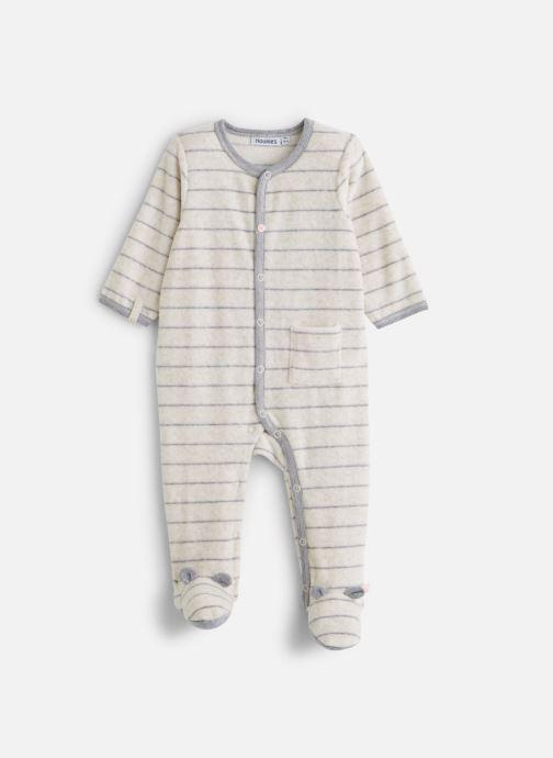 Vêtements Noukies Graphique Boy Dors Bien Blanc vue détail/paire