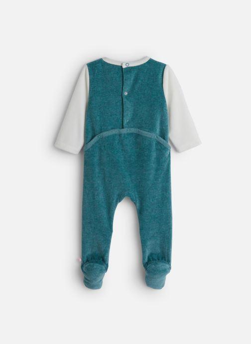 Vêtements Noukies Smart Boy Db Velours Bleu vue bas / vue portée sac