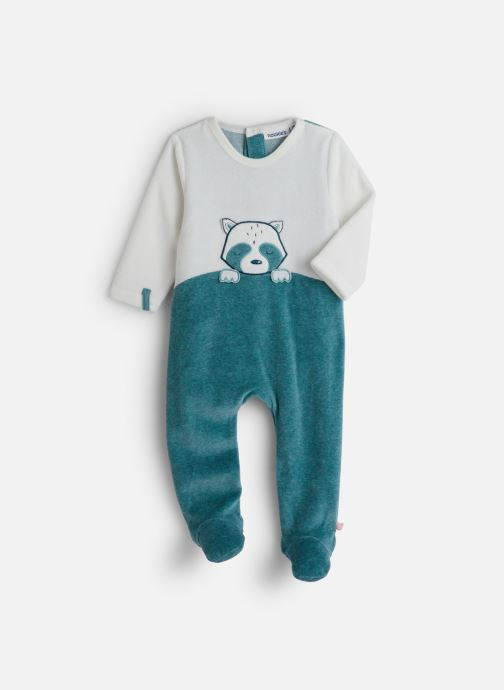 Vêtements Noukies Smart Boy Db Velours Bleu vue détail/paire