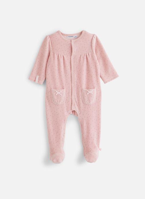 Vêtements Noukies Smart Girl Dors Bien Vel Rose vue détail/paire
