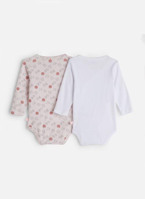 Vêtements Noukies Lot 2 Body Croise Rose vue bas / vue portée sac
