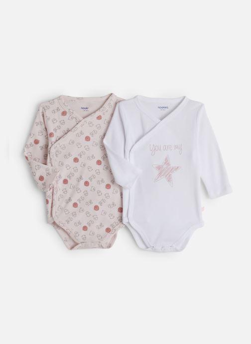 Vêtements Noukies Lot 2 Body Croise Rose vue détail/paire