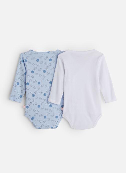 Vêtements Noukies Lot 2 Body Croise Bleu vue bas / vue portée sac