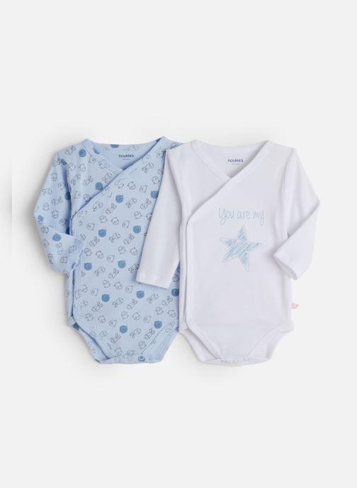 Vêtements Noukies Lot 2 Body Croise Bleu vue détail/paire