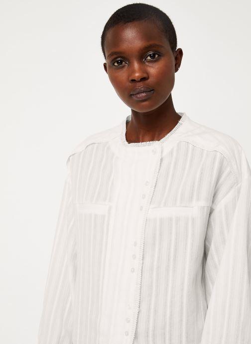 Vêtements See u soon 9211017B Blanc vue face