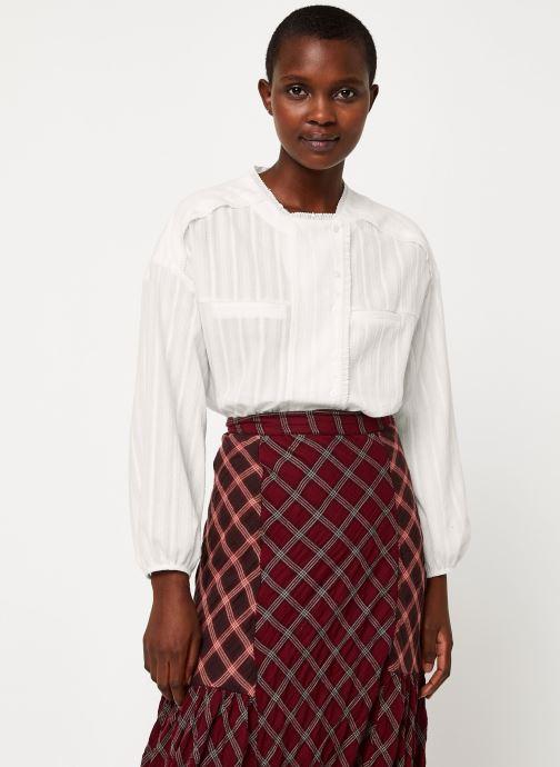 Vêtements See u soon 9211017B Blanc vue détail/paire