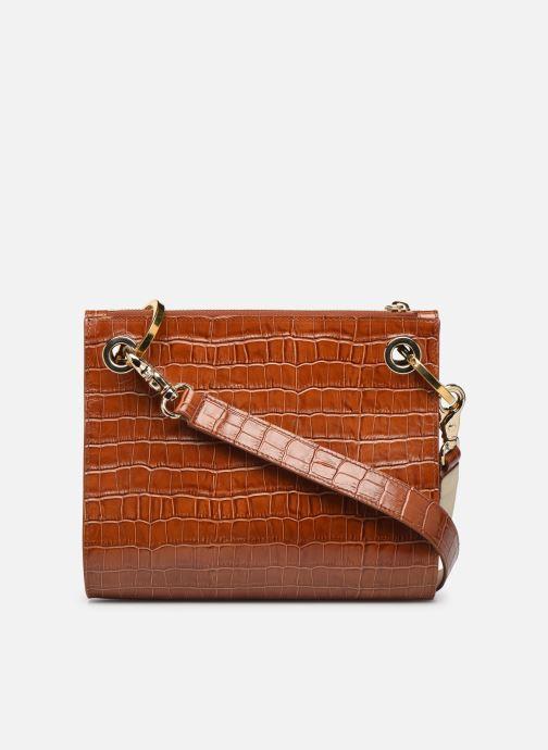 Handbags Sainte Isaure Patty Brown front view