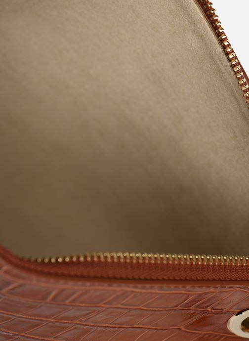 Handbags Sainte Isaure Patty Brown back view