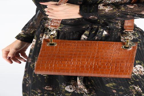 Sacs à main Sainte Isaure Patty Or et bronze vue bas / vue portée sac