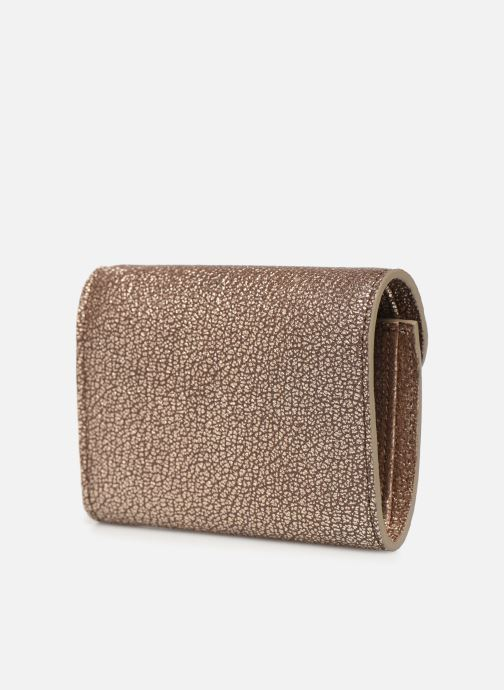 Wallets & cases Sainte Isaure Renée Wallet Bronze and Gold view from the right