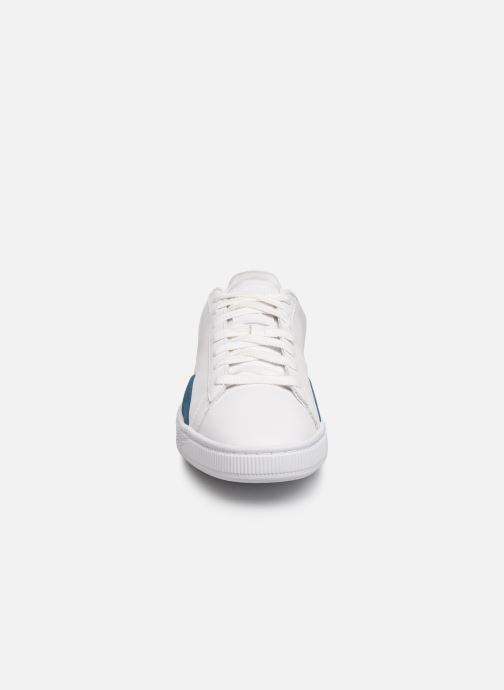 Baskets Puma Basket Notch Blanc vue portées chaussures
