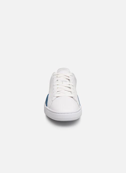 Sneakers Puma Basket Notch Bianco modello indossato