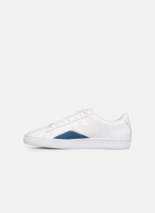 Sneakers Puma Basket Notch Bianco immagine frontale