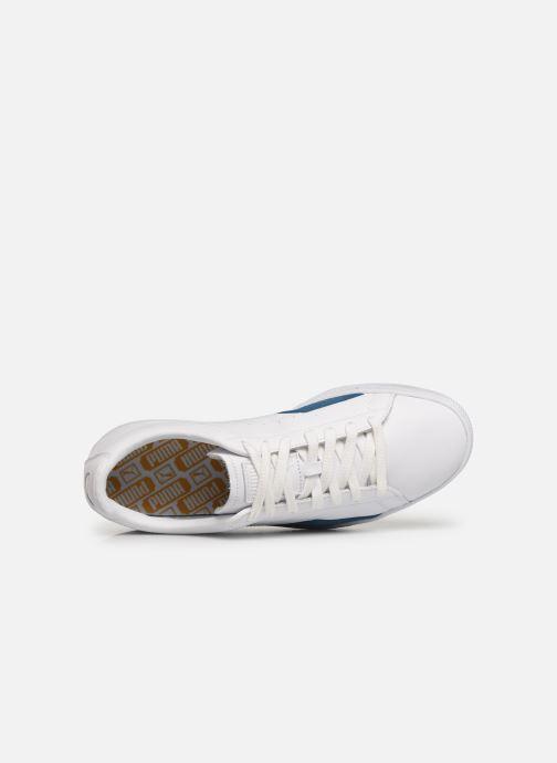 Sneakers Puma Basket Notch Bianco immagine sinistra