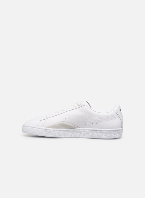 Trainers Puma Basket Notch White front view