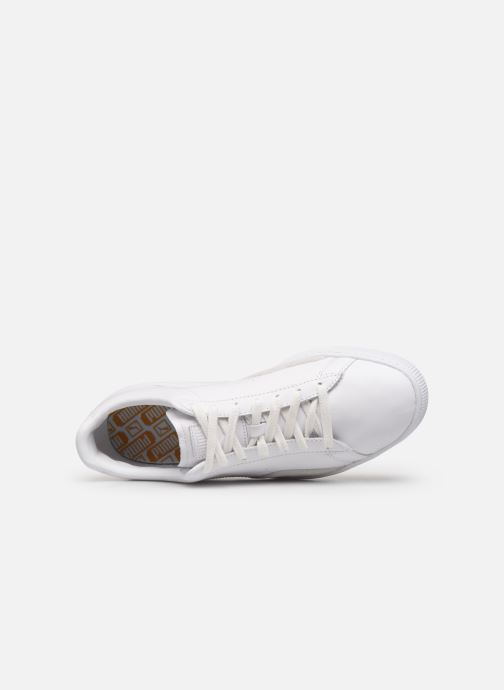 Trainers Puma Basket Notch White view from the left