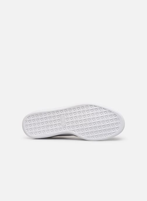 Trainers Puma Basket Notch White view from above