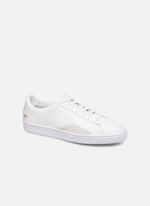 Baskets Puma Basket Notch Blanc vue détail/paire