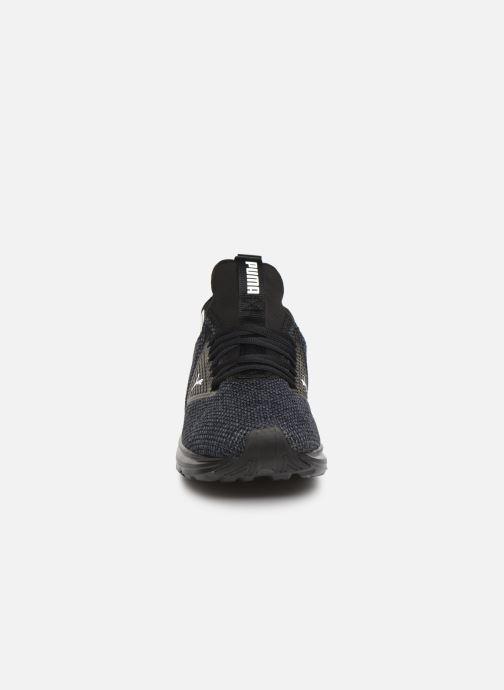 Baskets Puma Enzo Beta Woven Noir vue portées chaussures