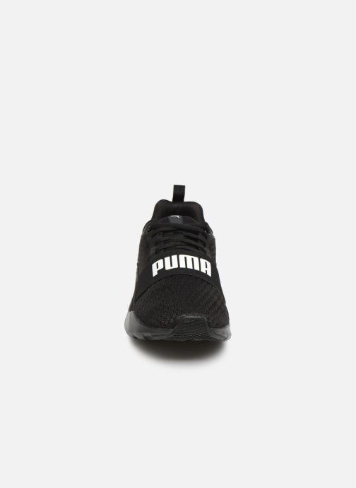 Sneaker Puma Puma Wired schwarz schuhe getragen