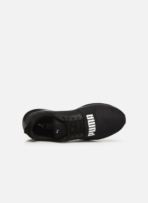 Sneaker Puma Puma Wired schwarz ansicht von links