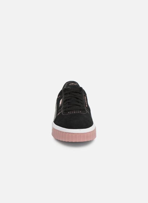 Baskets Puma Cali Patternmaster Wn'S Noir vue portées chaussures