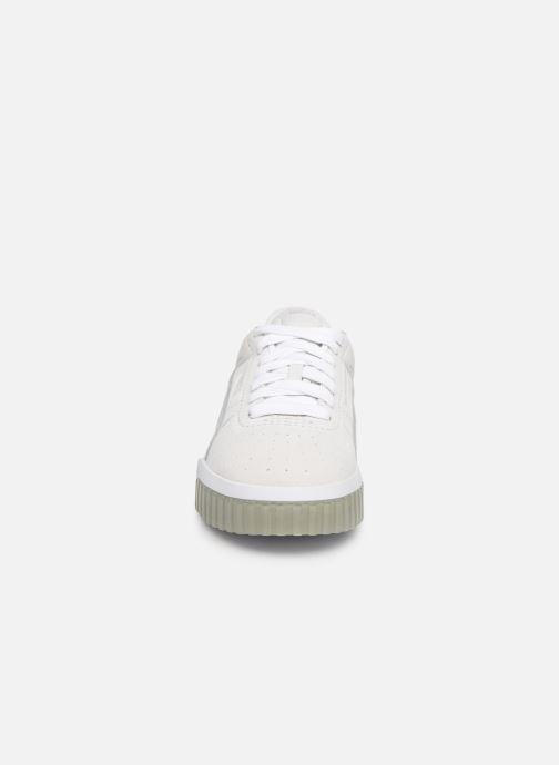 Baskets Puma Cali Patternmaster Wn'S Blanc vue portées chaussures