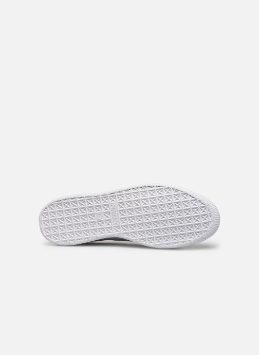 Trainers Puma Basket Trim Block White view from above