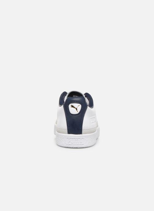 Sneaker Puma Basket Trim Block weiß ansicht von rechts
