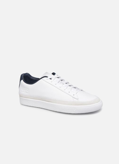 Trainers Puma Basket Trim Block White detailed view/ Pair view