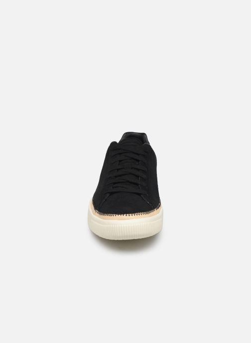 Baskets Puma Suede Trim Prm Noir vue portées chaussures