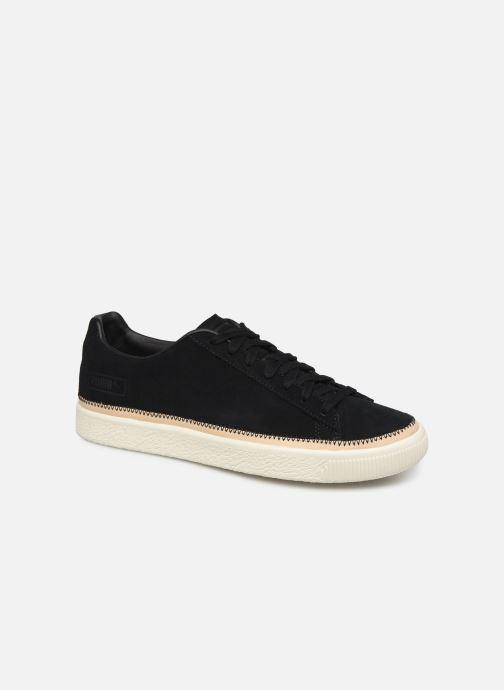 Sneakers Puma Suede Trim Prm Sort detaljeret billede af skoene