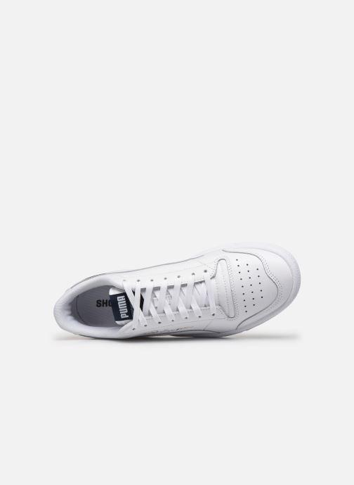 Sneaker Puma Ralph Sampson Lo H weiß ansicht von links