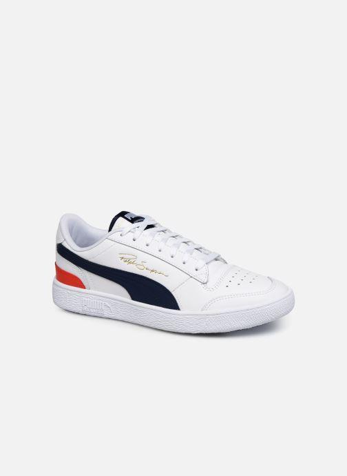 Sneakers Puma Ralph Sampson Lo H Hvid detaljeret billede af skoene