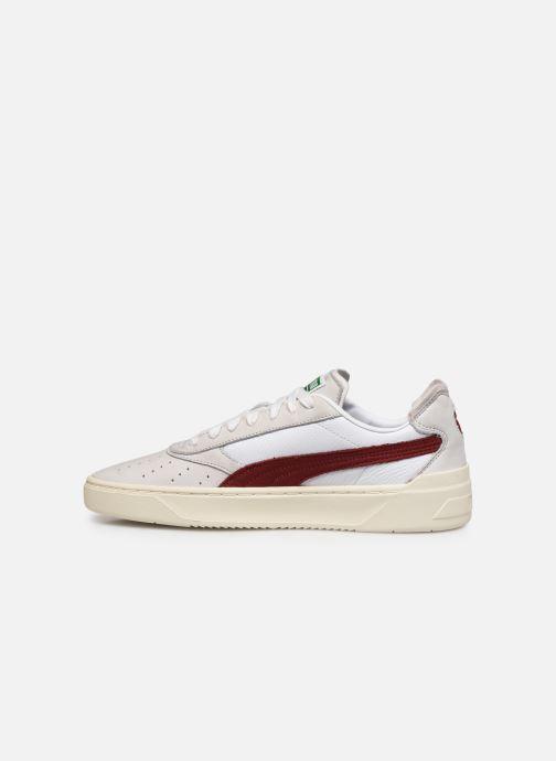 Sneaker Puma Cali-0 Vintage weiß ansicht von vorne