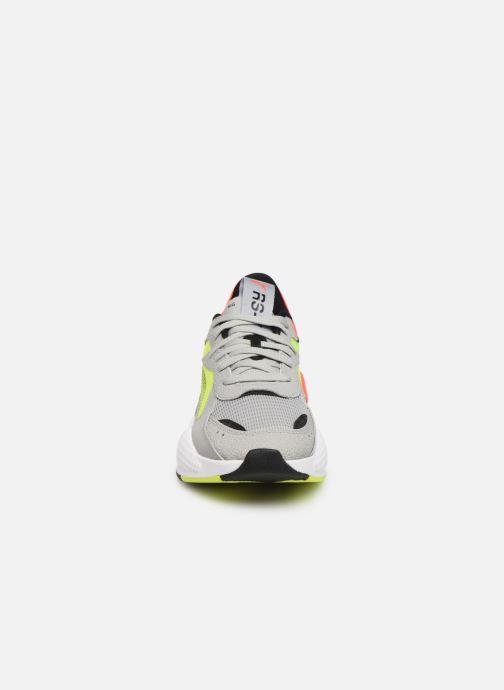 Baskets Puma Rs-X Hard Drive Gris vue portées chaussures