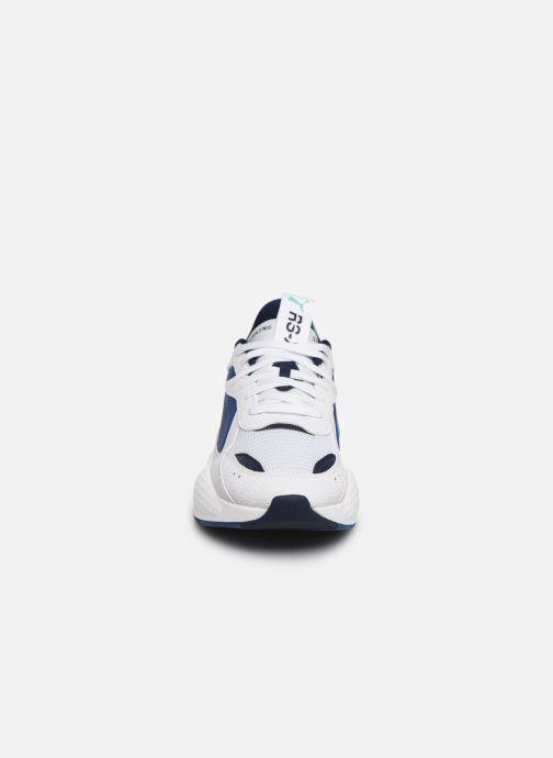 Sneaker Puma Rs-X Hard Drive weiß schuhe getragen